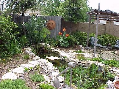 Pond designs for Design criteria of pond